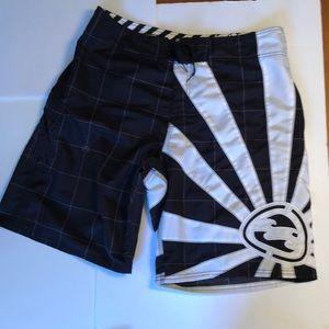 Billabong Andy Irons Boardshorts SZ 38 Embroidered
